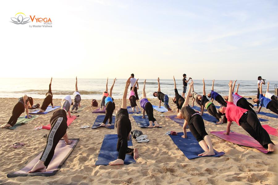 Yoga Dã Ngoại Ngoài Trời - Fiore Healthy Resort 2017